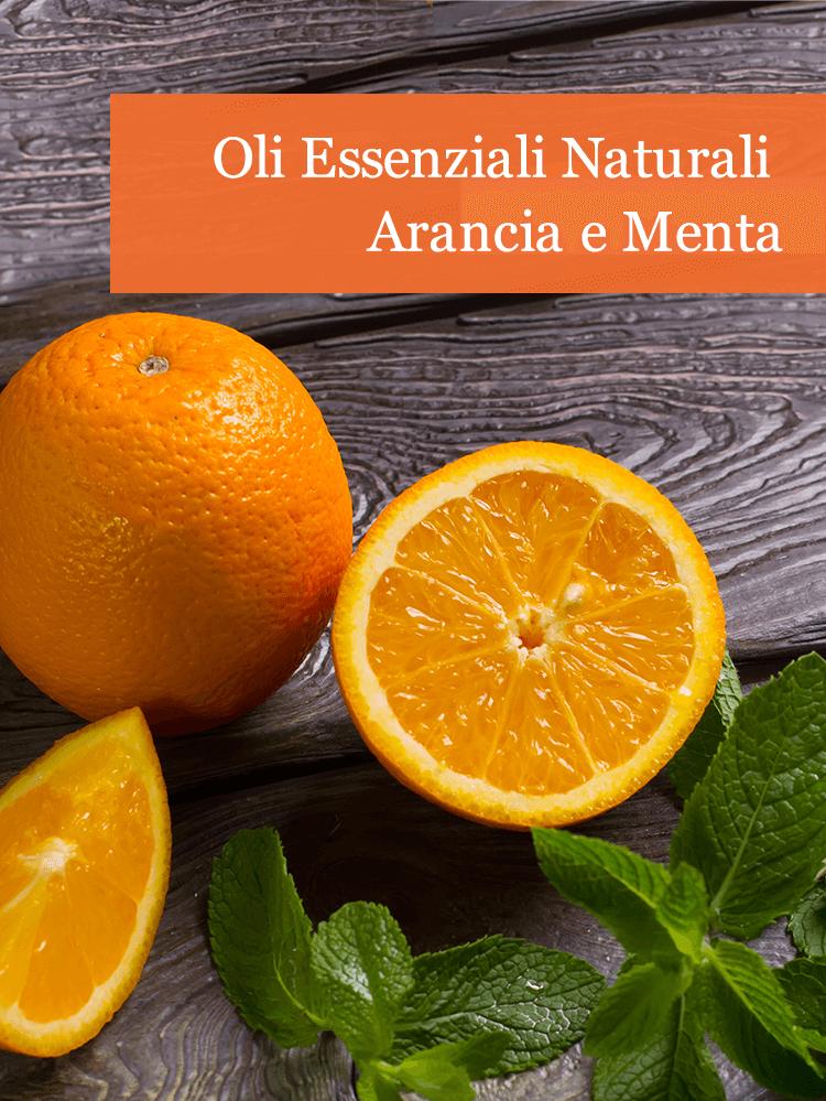 Oli Essenziali Naturali Arancia